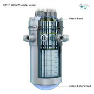 EPR reactor vessel