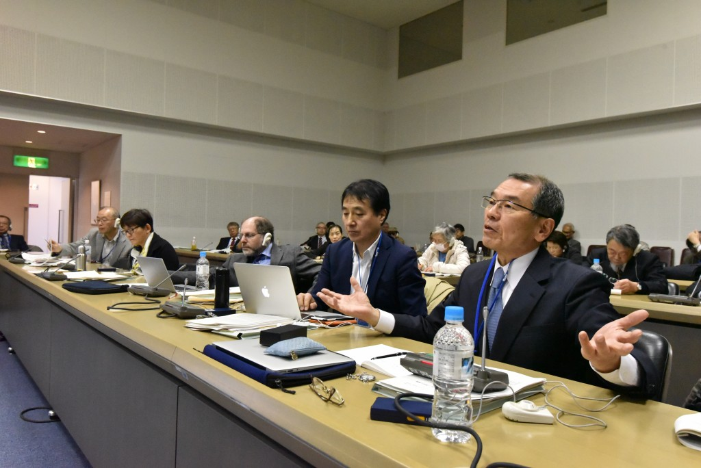Hideyuki Ban, Tetsunari Iida and Edwin Lyman from Session 4