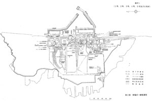 発電所一般配置図/福島第一原子力発電所原子炉設置変更許可申請書