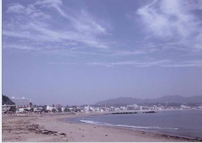 三浦海岸と活断層