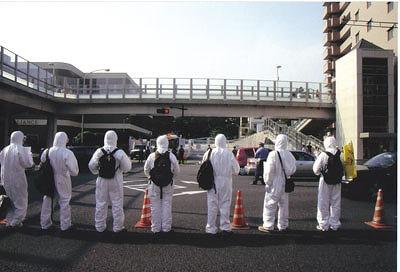 市民は放射能災害を心配する