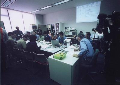 原子力防災訓練・連絡調整室